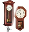 German Movement Keywound Wall Clocks